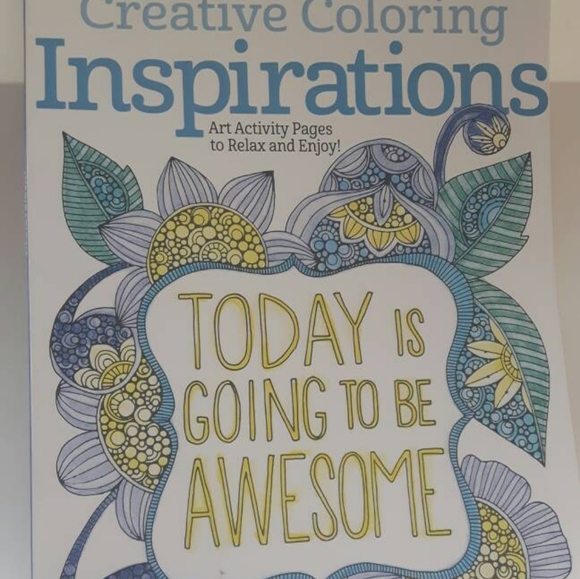 Other Other - Creative Coloring Inspirations: Art Activity Pages
